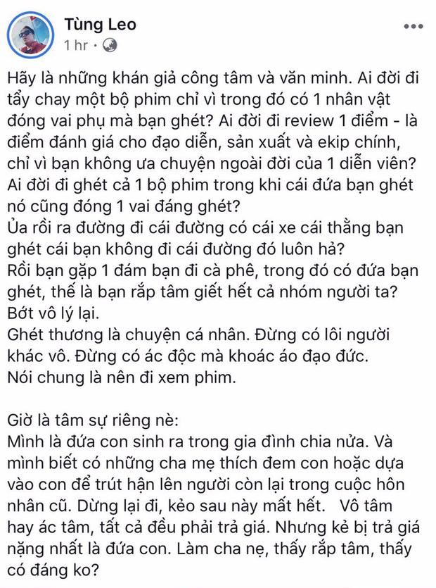 Lý Phương Châu cùng dàn sao Việt lên tiếng ủng hộ Vu Quy Đại Náo trước ồn ào tẩy chay - Ảnh 5.