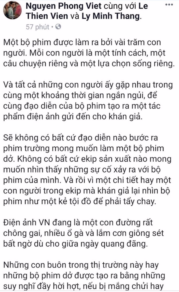 Lý Phương Châu cùng dàn sao Việt lên tiếng ủng hộ Vu Quy Đại Náo trước ồn ào tẩy chay - Ảnh 12.