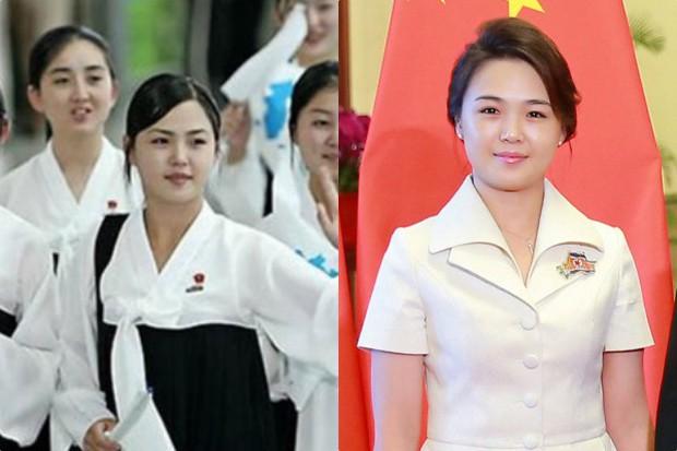 Ngoài phong cách, Đệ nhất phu nhân Triều Tiên còn sở hữu làn da và mái tóc đáng ngưỡng mộ - Ảnh 3.
