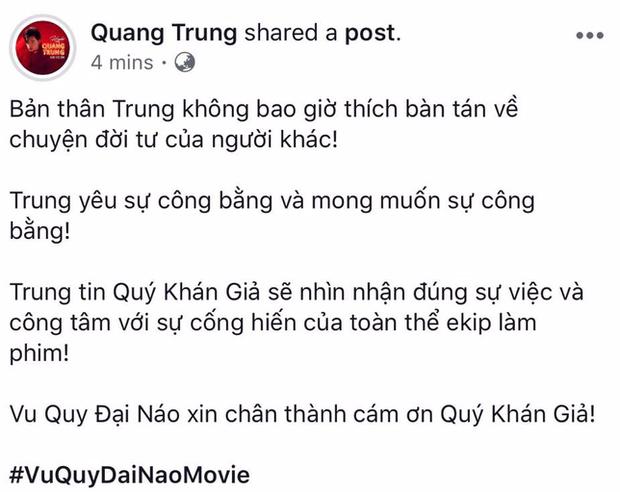 Lý Phương Châu cùng dàn sao Việt lên tiếng ủng hộ Vu Quy Đại Náo trước ồn ào tẩy chay - Ảnh 7.