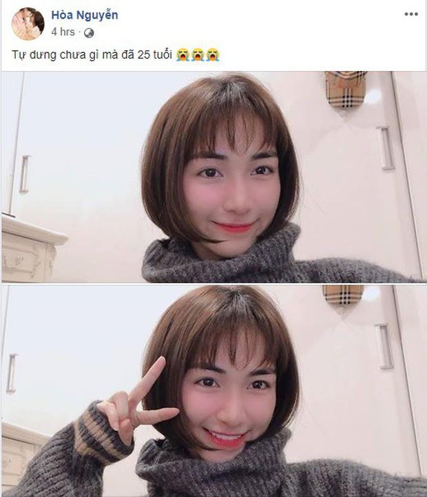 """Hòa Minzy bất ngờ xuống tóc: Trẻ trung, xinh xắn mà còn """"hack tuổi"""" đáng kể - Ảnh 1."""