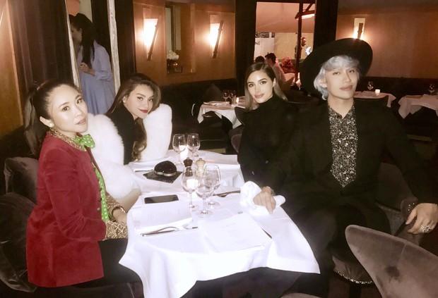 Hà Hồ diện áo lông 300 triệu, sánh đôi cùng Lý Quí Khánh đi dự show Saint Laurent tại Paris Fashion Week - Ảnh 5.