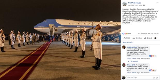 Cầu Nhật Tân xuất hiện trên fanpage của Nhà Trắng sau khi Tổng thống Trump tới Việt Nam - Ảnh 2.