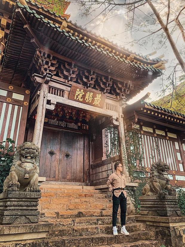 Chưa đi Nhật cũng đừng buồn, Việt Nam có hẳn 3 phiên bản chùa chiền có kiến trúc độc đáo cộp mác xứ sở mặt trời mọc đây này! - Ảnh 8.