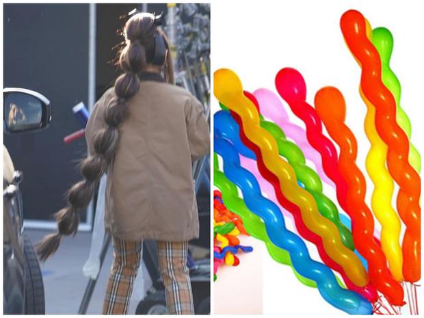 Ariana Grande tung tăng dạo phố với bộ tóc được tạo hình lấy cảm hứng từ đòn bánh tét  - Ảnh 3.