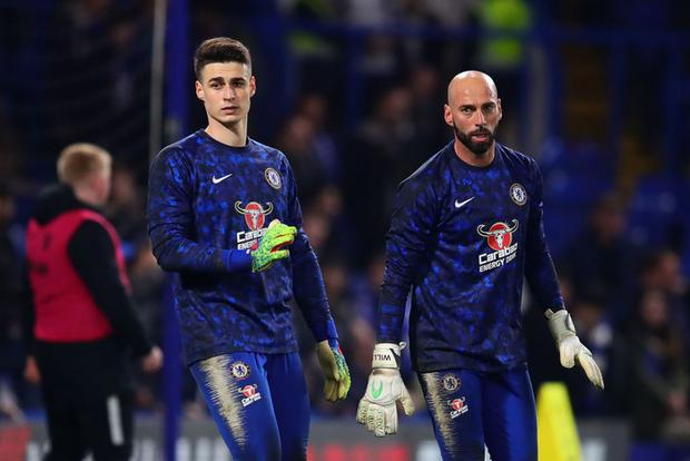 Kepa được khen ngoan trong ngày phải ngồi dự bị, nhìn Chelsea thắng Tottenham - Ảnh 1.