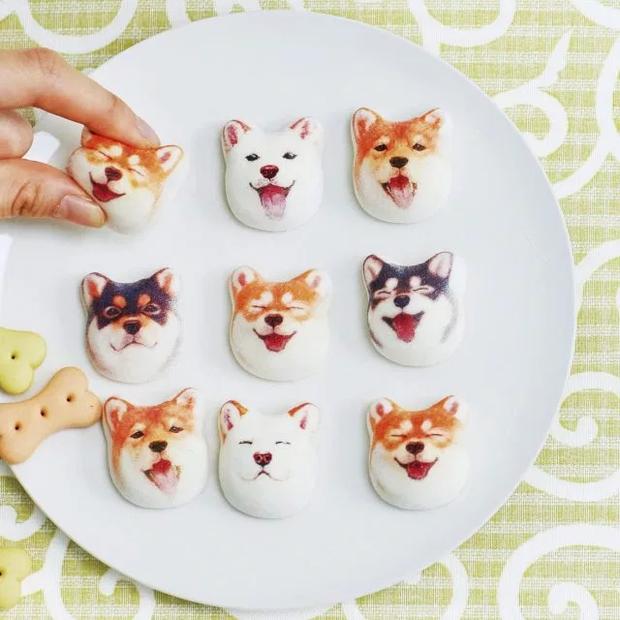Đội quân kẹo dẻo mặt chó Shiba gây sốt thị trường Nhật, dễ thương quá chỉ ngắm chứ không ăn! - Ảnh 2.