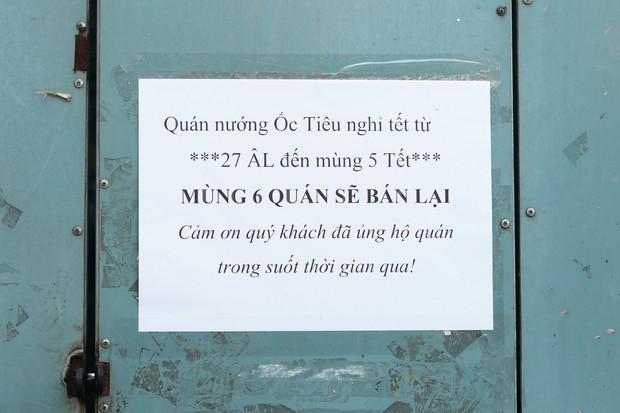 Đây là khoảnh khắc khiến bạn nhận ra Sài Gòn đã chuyển từ đón Tết sang ăn Tết: Quán xá đóng cửa hàng loạt, phố phường bình yên chậm rãi - Ảnh 10.
