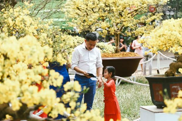 Người Sài Gòn xúng xính áo mới, dạo đường Nguyễn Huệ và hội hoa xuân Tao Đàn chiều 29 Tết Kỷ Hợi - Ảnh 3.