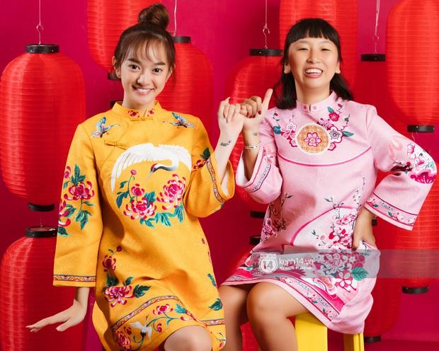Năm mới ngồi nghe đôi bạn thân cực nhắng Kaity Nguyễn - Trang Hý tố nhau cười bể bụng - Ảnh 14.