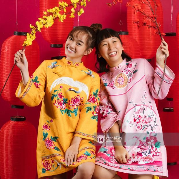 Năm mới ngồi nghe đôi bạn thân cực nhắng Kaity Nguyễn - Trang Hý tố nhau cười bể bụng - Ảnh 1.