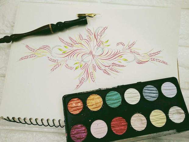 Chỉ với phấn và bảng, thầy giáo trẻ tạo nên bức tranh chúc mừng năm mới đẹp vạn người mê - Ảnh 7.