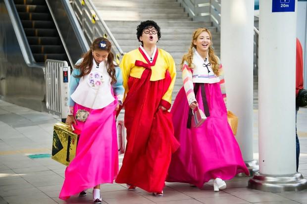 Đi tìm nữ Idol diện hanbok đẹp nhất trên show thực tế nhân dịp đầu năm mới - Ảnh 8.