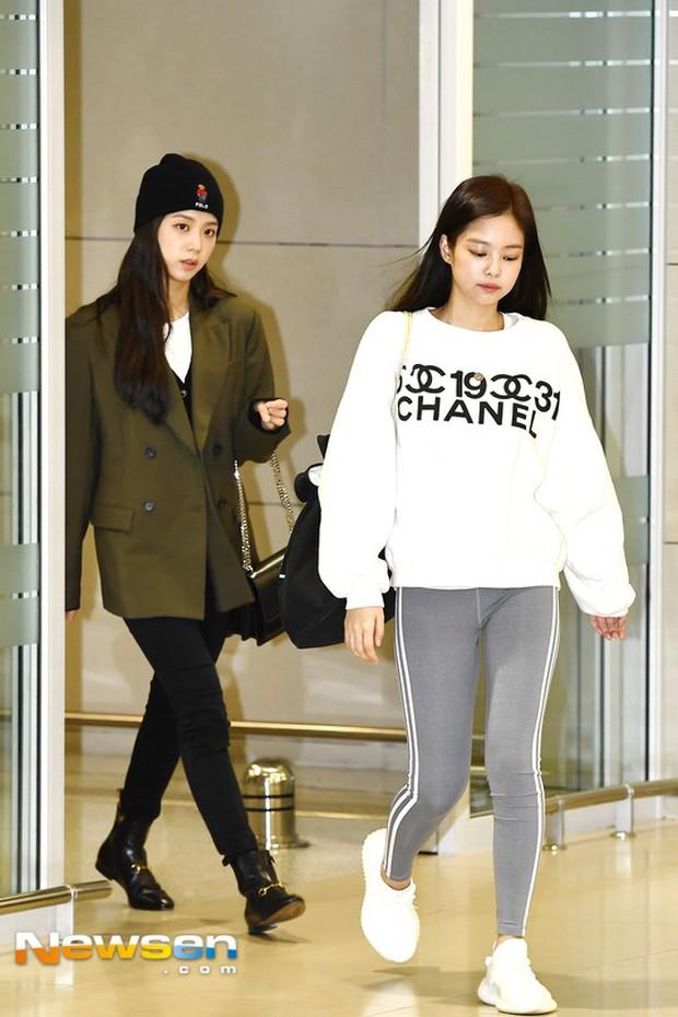 Báo khen Jennie đe dọa ngôi vị nữ hoàng legging của Naeun, netizen Hàn lại phản đối vì nhược điểm này - Ảnh 3.
