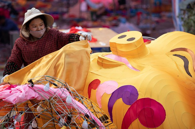 Linh vật lợn khắp thế giới vẫy chào năm Kỷ Hợi 2019: Vừa đáng yêu lại hài hước miễn chê - Ảnh 3.