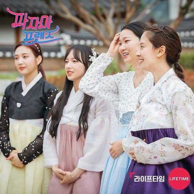 Đi tìm nữ Idol diện hanbok đẹp nhất trên show thực tế nhân dịp đầu năm mới - Ảnh 11.