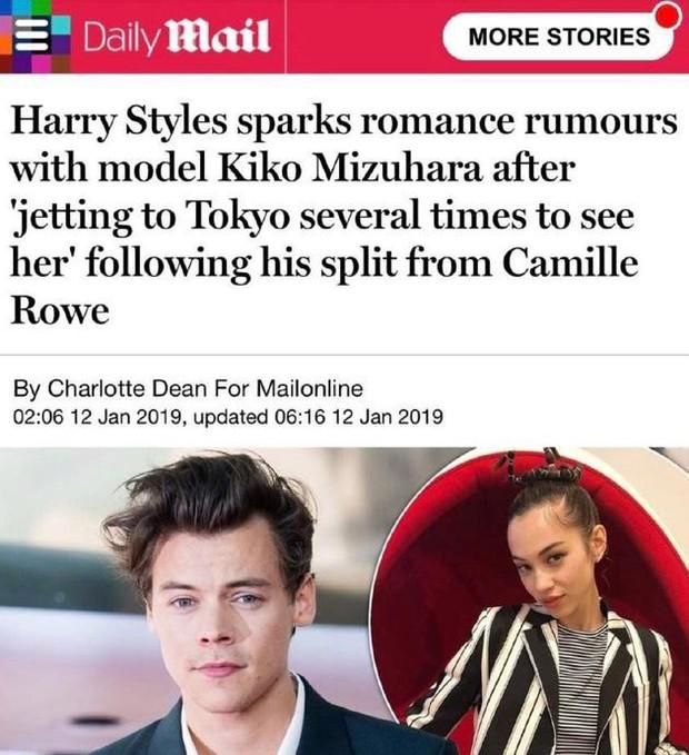 Mạnh miệng khẳng định chưa từng gặp Harry Styles, Kiko Mizuhara bị tung ảnh hẹn hò siêu vui vẻ bên anh chàng - Ảnh 1.