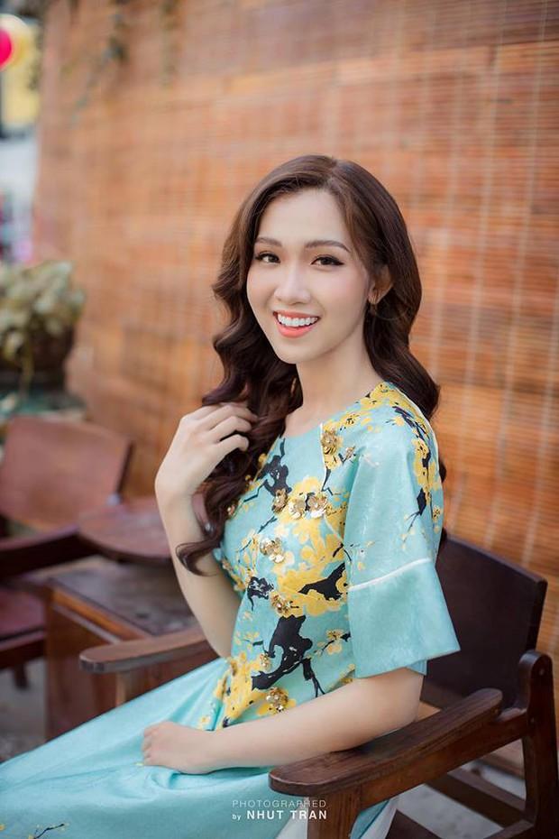 Nhật Hà diện Áo dài, tự tin nói về Tết Việt bằng tiếng Anh trong clip giới thiệu tại Miss International Queen 2019 - Ảnh 3.