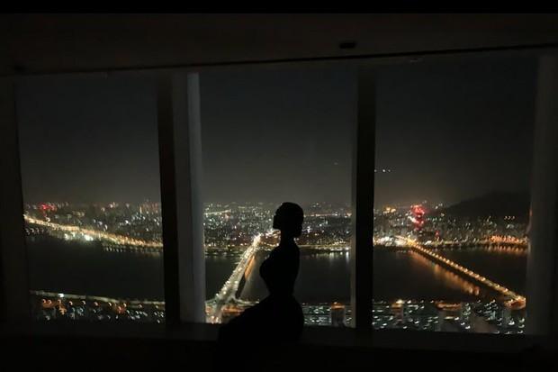 Ngày 30 Tết, Bom sex xứ Hàn vọt lên top 1 Naver vì khoe nhà triệu đô ở tòa cao thứ 5 thế giới sau khi cưới đại gia - Ảnh 2.