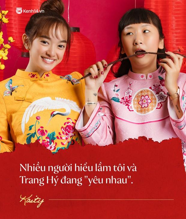 Năm mới ngồi nghe đôi bạn thân cực nhắng Kaity Nguyễn - Trang Hý tố nhau cười bể bụng - Ảnh 4.