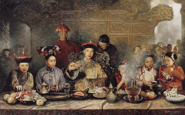Phong tục đón Tết Nguyên Đán bên trong Tử Cấm Thành của các vị vua nhà Thanh - Ảnh 7.