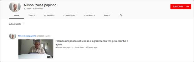 Như một phép màu, gần 2 triệu người ùn ùn subscribe YouTube cụ già xì tin này vì lý do vô cùng ấm áp - Ảnh 1.