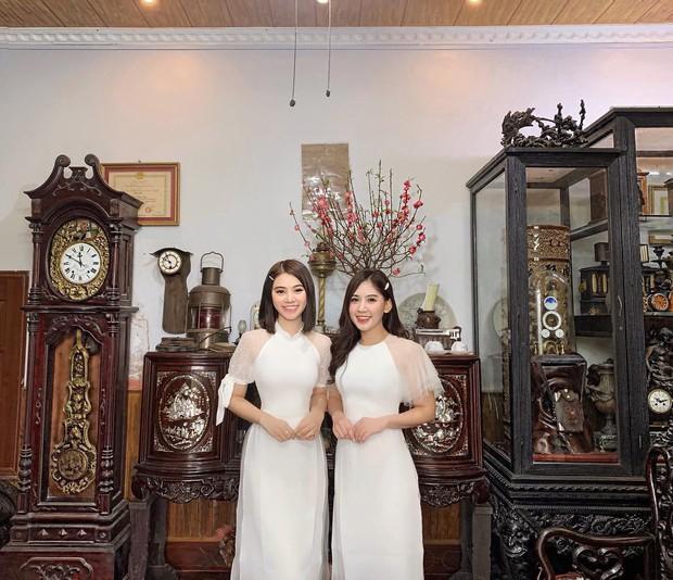 Đã thành thói quen, cứ mùng 1 Tết là từ sao tới hot girl Việt lại diện áo dài tưng bừng - Ảnh 9.