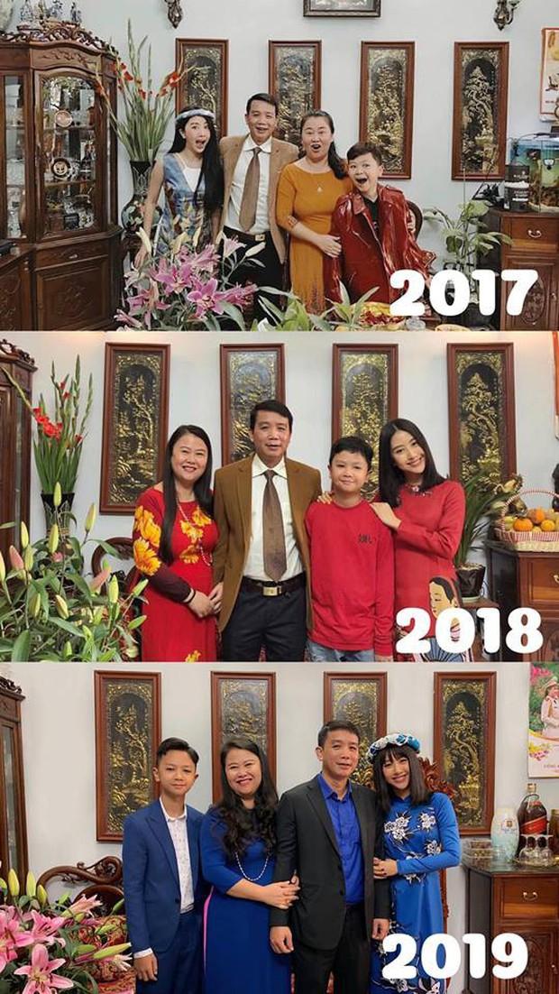 Khoe ảnh gia đình qua 3 năm, Quỳnh Anh Shyn lần đầu tiên mất spotlight vì cậu em càng lớn càng điển trai - Ảnh 1.