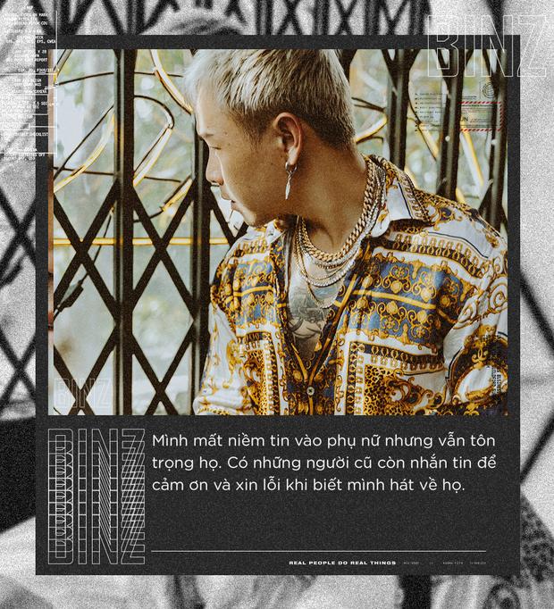 """Rapper Binz: Nhiều người khuyên tôi đừng nên sáng tác nhạc """"gắt"""" nữa nhưng đó mới là tôi - Ảnh 9."""