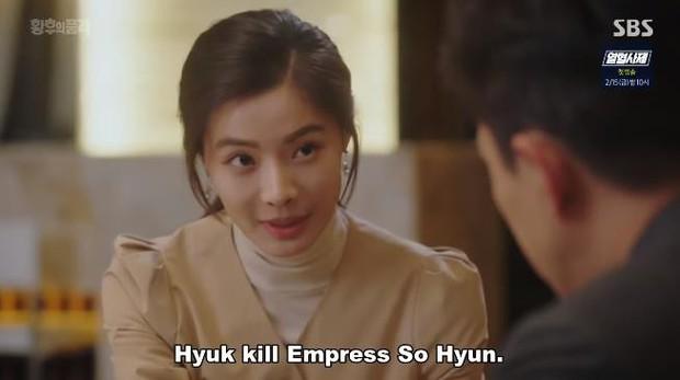 """Hoàng hậu Jang Nara """"chơi lớn"""": Dọa khui vụ ngoại tình vú em của thủ tướng Hàn trong The Last Empress - Ảnh 4."""
