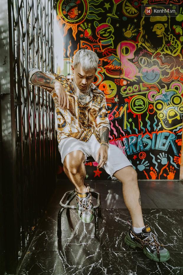 """Rapper Binz: Nhiều người khuyên tôi đừng nên sáng tác nhạc """"gắt"""" nữa nhưng đó mới là tôi - Ảnh 10."""