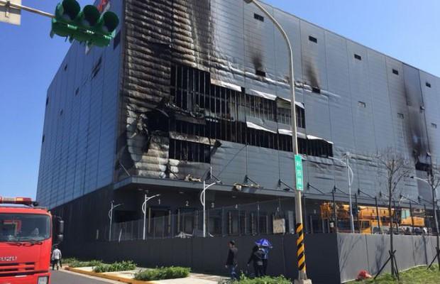 3 lao động Việt Nam tử vong sau khi kho hàng ở Đài Loan bốc cháy - Ảnh 1.