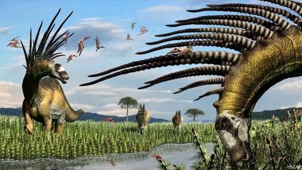 Tìm ra con khủng long siêu ngầu: có bờm như trẻ trâu nhưng thực chất là vũ khí chết người - Ảnh 1.