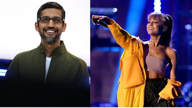 thank you, next được CEO Google nức nở khen khiến ai cũng ngạc nhiên, phải chăng ông cũng là fan Ariana Grande? - Ảnh 1.