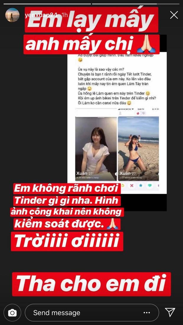 Lướt app hẹn hò gặp ai như bạn gái Lâm Tây, và đây là cách cô nàng phản ứng - Ảnh 3.