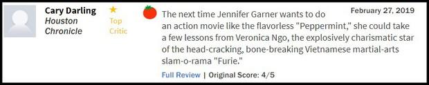 Hai Phượng được trang Rotten Tomatoes khen ngợi, ví von Ngô Thanh Vân với Keanu Reeves và Charlie Theron - Ảnh 1.