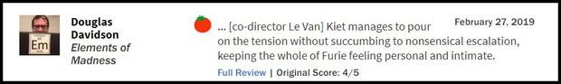 Hai Phượng được trang Rotten Tomatoes khen ngợi, ví von Ngô Thanh Vân với Keanu Reeves và Charlie Theron - Ảnh 4.