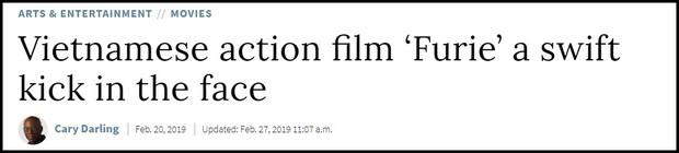 Hai Phượng được trang Rotten Tomatoes khen ngợi, ví von Ngô Thanh Vân với Keanu Reeves và Charlie Theron - Ảnh 2.