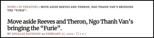 Hai Phượng được trang Rotten Tomatoes khen ngợi, ví von Ngô Thanh Vân với Keanu Reeves và Charlie Theron - Ảnh 5.
