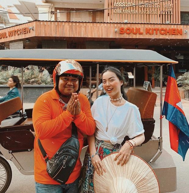 Trọn bộ bí kíp sống ảo tại Campuchia của hotgirl Hà Trúc: Đi vài bước lại chụp được một tấm ảnh là có thật! - Ảnh 6.