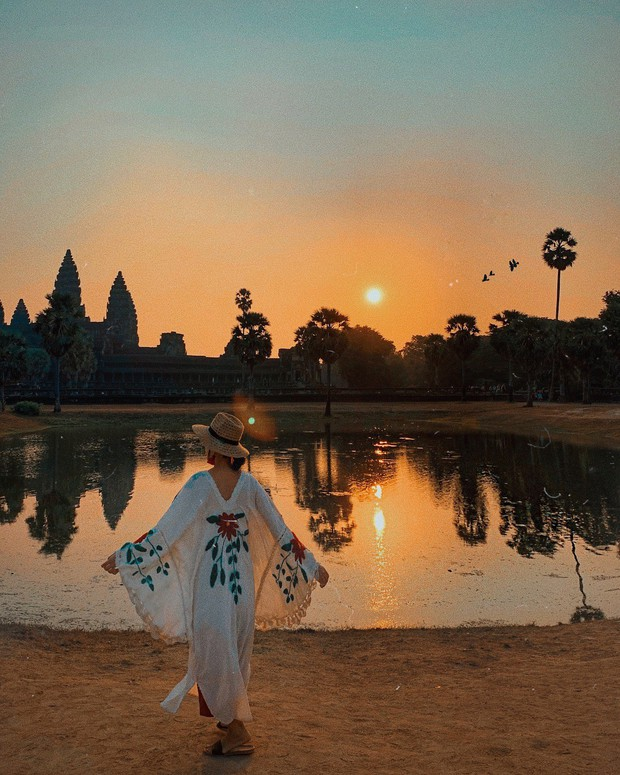 Trọn bộ bí kíp sống ảo tại Campuchia của hotgirl Hà Trúc: Đi vài bước lại chụp được một tấm ảnh là có thật! - Ảnh 7.