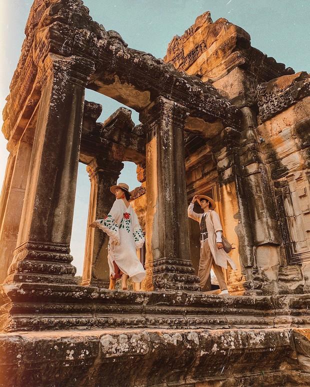 Trọn bộ bí kíp sống ảo tại Campuchia của hotgirl Hà Trúc: Đi vài bước lại chụp được một tấm ảnh là có thật! - Ảnh 9.