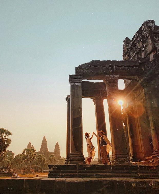 Trọn bộ bí kíp sống ảo tại Campuchia của hotgirl Hà Trúc: Đi vài bước lại chụp được một tấm ảnh là có thật! - Ảnh 10.
