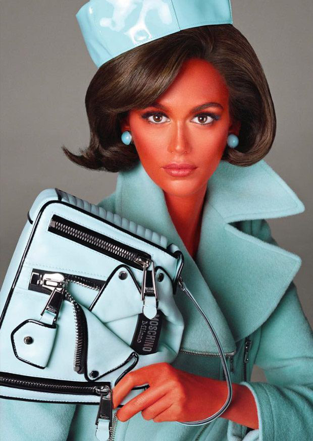 Germanys Next Top Model nhuộm da đủ màu sặc sỡ cho thí sinh nhưng sao thấy quen quen - Ảnh 2.