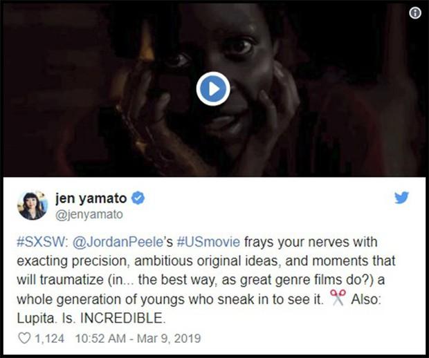 Us của Jordan Peele được khen là kiệt tác kinh dị đầu năm 2019 - Ảnh 3.