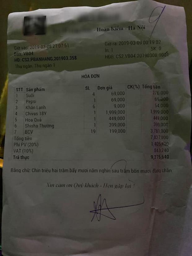 Xôn xao câu chuyện thiếu nữ lên bar chơi với bạn trai mới quen rồi bị bỏ rơi cùng hóa đơn 9 triệu đồng - Ảnh 2.