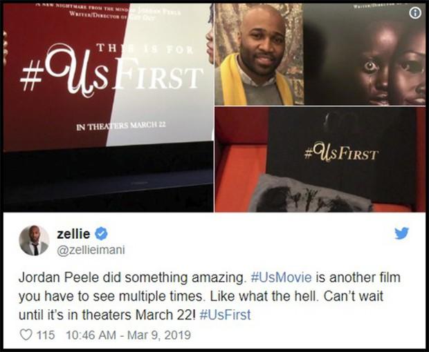 Us của Jordan Peele được khen là kiệt tác kinh dị đầu năm 2019 - Ảnh 10.