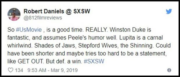 Us của Jordan Peele được khen là kiệt tác kinh dị đầu năm 2019 - Ảnh 9.