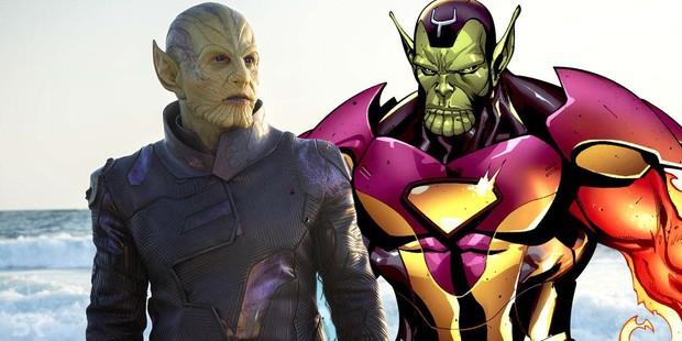 """Lục lọi hồ sơ vũ trụ của 2 chủng tộc da xanh thượng đẳng Kree và Skrull trong """"Captain Marvel"""" - Ảnh 5."""