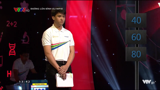 Chủ quan tại phần thi Về đích, hot boy Nghệ An khiến khán giả bật khóc nức nở vì tuột mất cơ hội vào Chung kết năm Olympia 2019 - Ảnh 1.